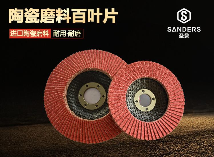 圣叠陶瓷磨料百叶片
